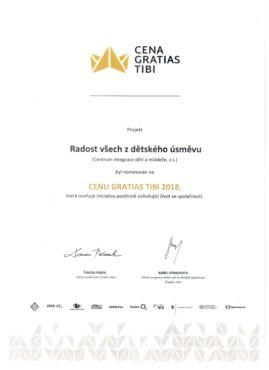 Nominace Gratias Tibi_2018