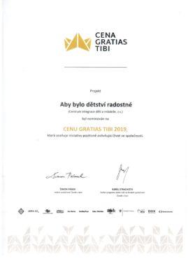 Nominace Gratias Tibi_2019